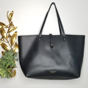 Victoria's Secret Large Faux Leather Tote